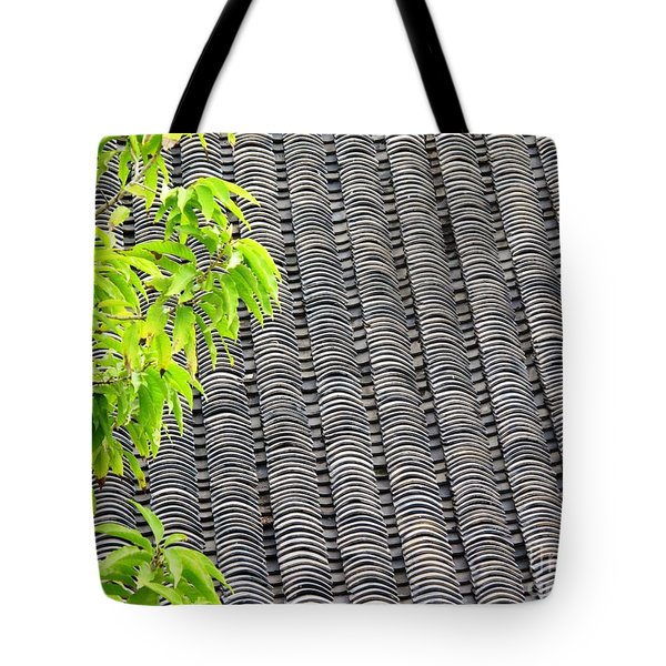 Tiled Roof Tote Bag
