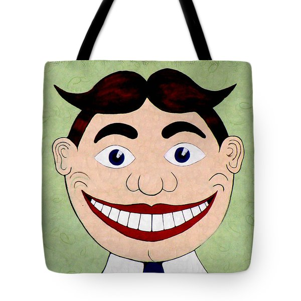 Fun Face Tote Bag