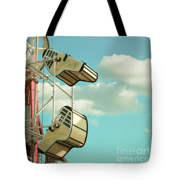 Tilt And Twirl Tote Bag by Colleen Kammerer