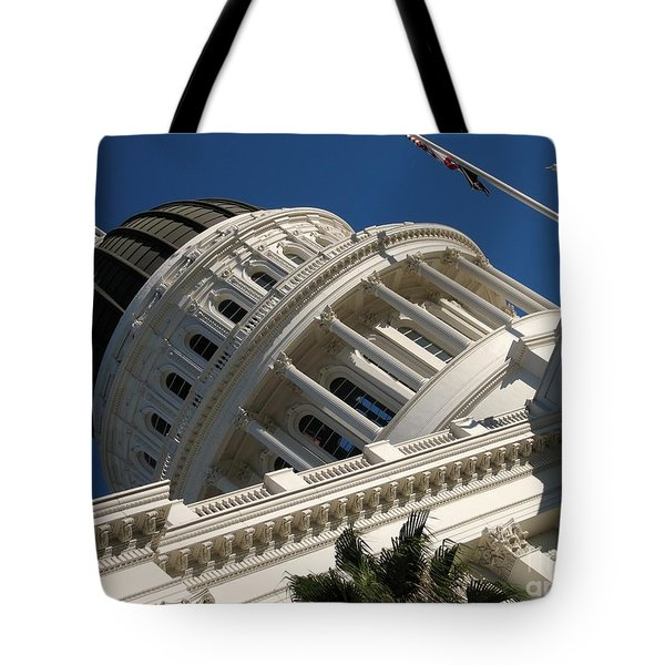 Tilted Dome Tote Bag