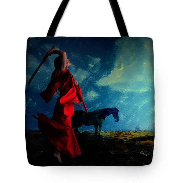 Tilting At Windmills Tote Bag