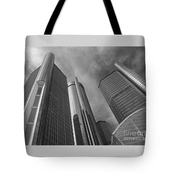 Tilting Towers Tote Bag
