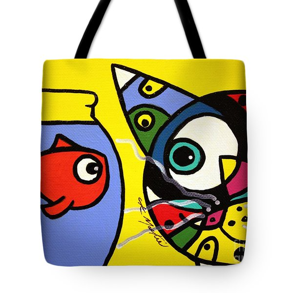 Tim And Dave Tote Bag