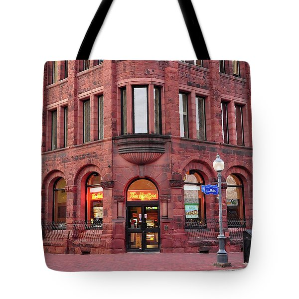 Tim Hortons Coffee Shop Tote Bag by Glenn Gordon