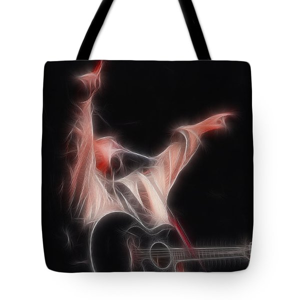 Tim Mcgraw Ga22 - Fractal Tote Bag by Gary Gingrich Galleries