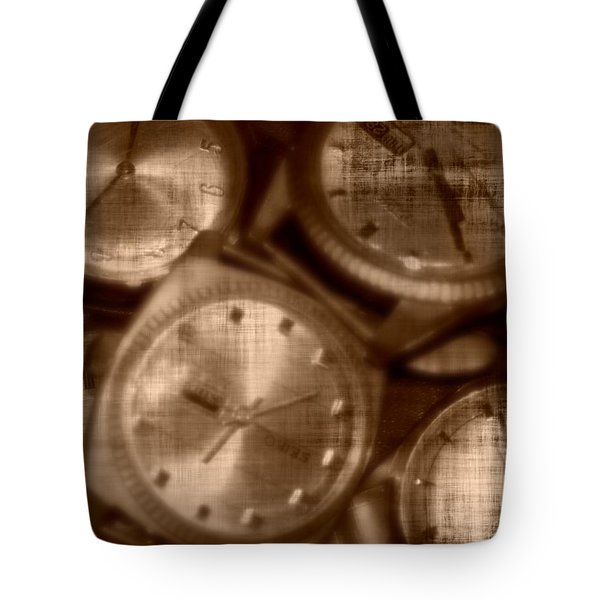 Time After Time Tote Bag by Barbara S Nickerson