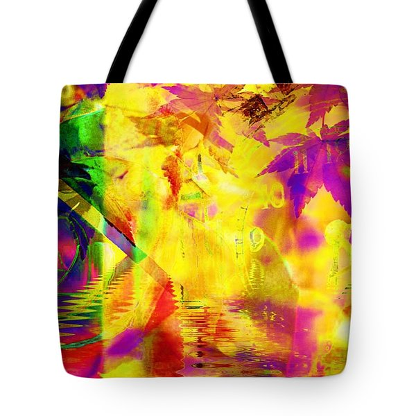 Time As An Abstract Tote Bag by Elizabeth McTaggart