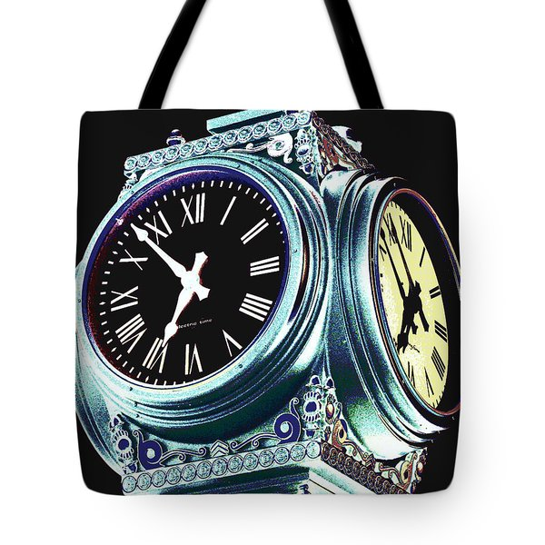 Time Tote Bag by Colleen Kammerer
