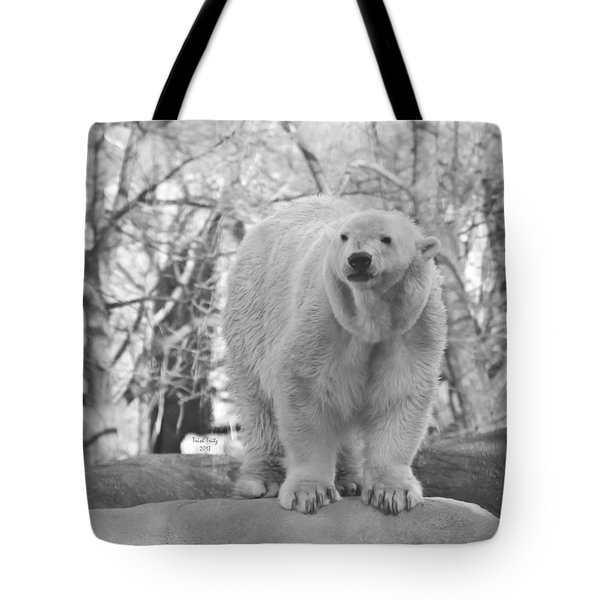 Time For A Dip Tote Bag by Trish Tritz