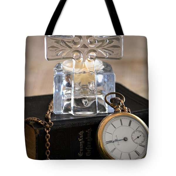 Time For God Tote Bag by Deb Halloran