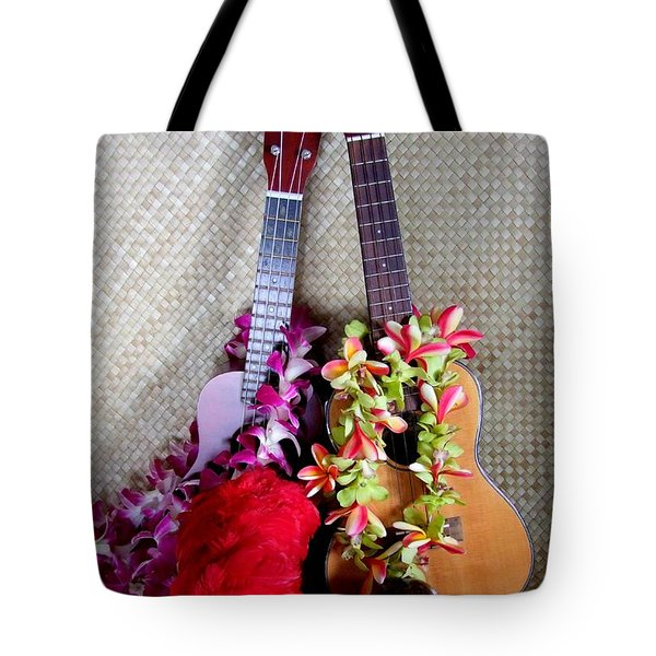 Time For Hula Tote Bag by Mary Deal