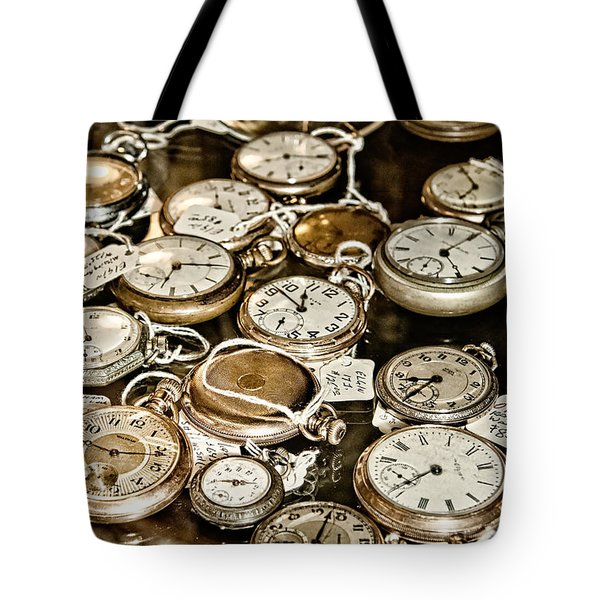 Time For Sale Tote Bag