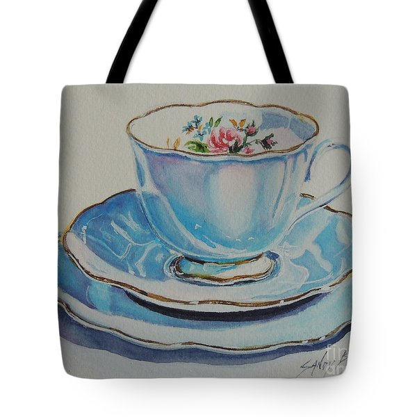 Time For Tea Sold Tote Bag