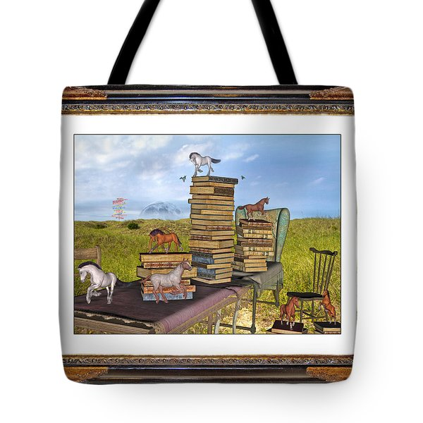 Time Frame Tote Bag by Betsy Knapp