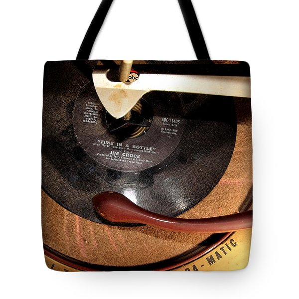 Time In A Bottle Tote Bag