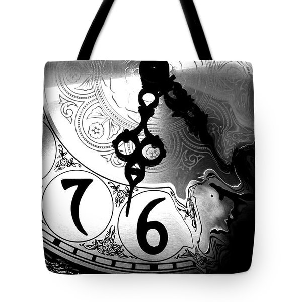 Time Is An Illusion Tote Bag