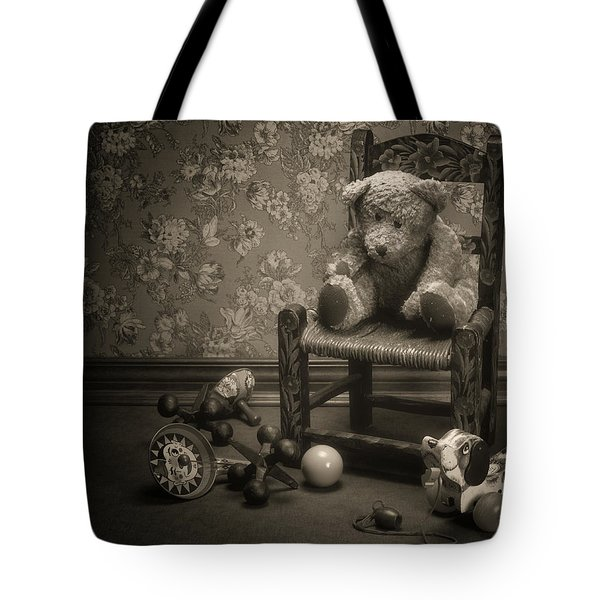 Time Out - A Teddy Bear Still Life Tote Bag