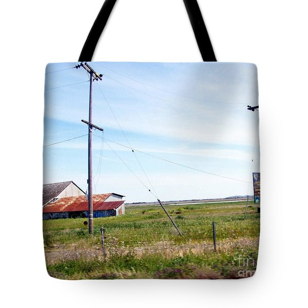 Tote Bag featuring the photograph Time Passed By by Bobbee Rickard