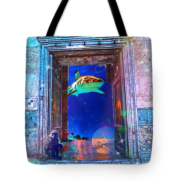 Time Portal Tote Bag