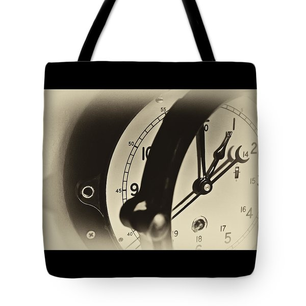 Time Release Tote Bag by Greg Jackson
