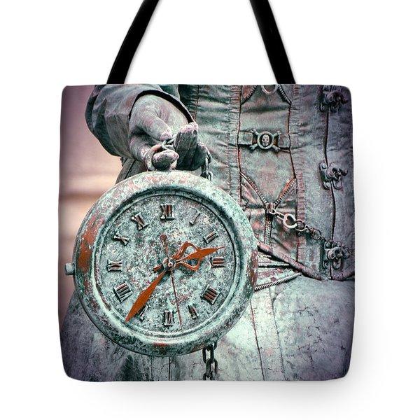 Time Time Time Tote Bag by Jaroslaw Blaminsky