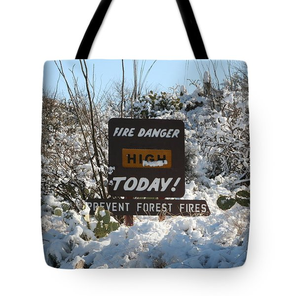 Tote Bag featuring the photograph Time To Change The Sign by David S Reynolds