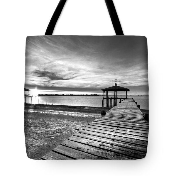 Time To Fish Tote Bag by Debra and Dave Vanderlaan