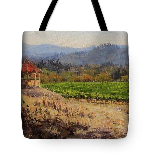 Time To Harvest Tote Bag by Karen Ilari