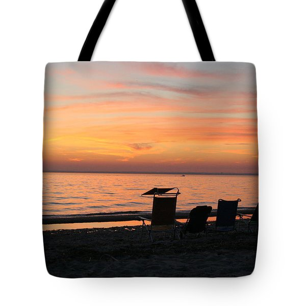Tote Bag featuring the photograph Time To Reflect by Karen Silvestri