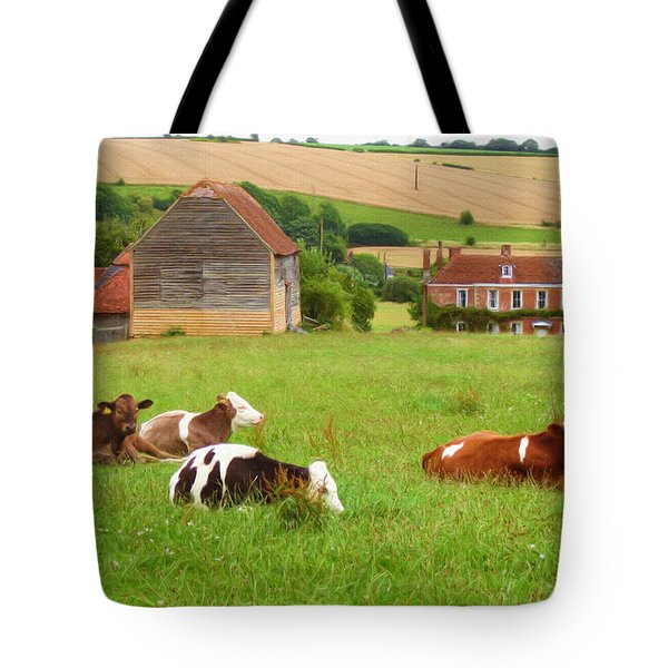 Time To Rest Tote Bag by Ayse Deniz