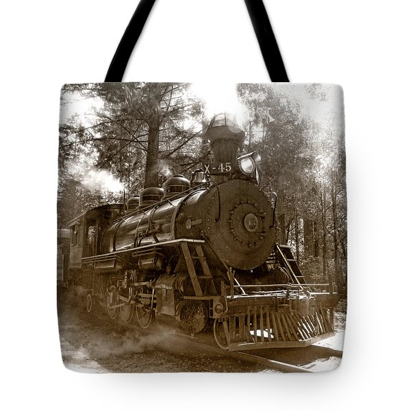 Time Traveler Tote Bag