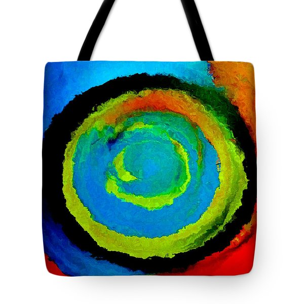 Tote Bag featuring the painting Time Traveler  by Lisa Kaiser