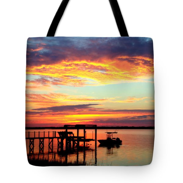 Time Waits For No One Tote Bag by Karen Wiles