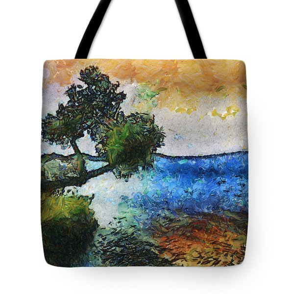 Time Well Spent - Medina Lake Tote Bag