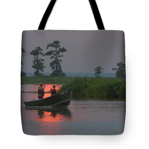 Time With Dad Tote Bag
