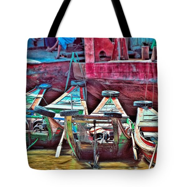 Tote Bag featuring the photograph Time Worn by Wallaroo Images