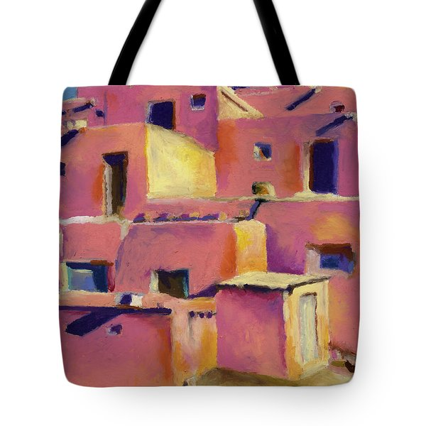 Timeless Adobe Tote Bag by Stephen Anderson