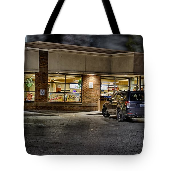 Timmy's At Night Tote Bag