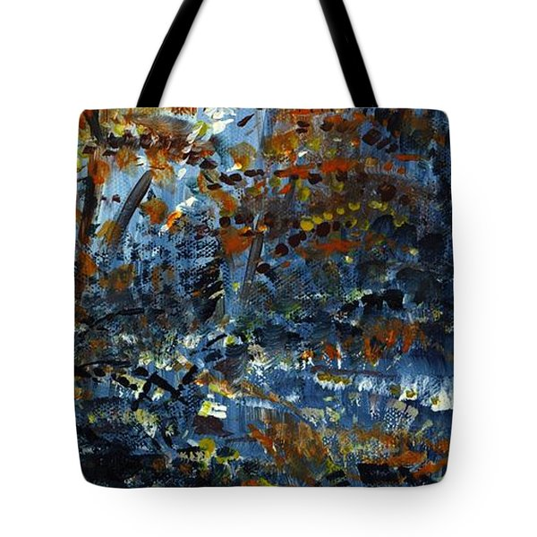 Tim's Autumn Trees Tote Bag