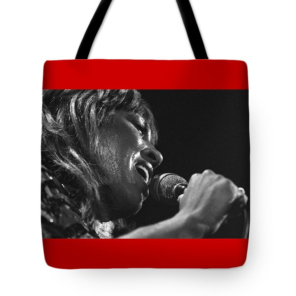 Tina Turner 1 Tote Bag