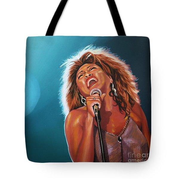Tina Turner 3 Tote Bag