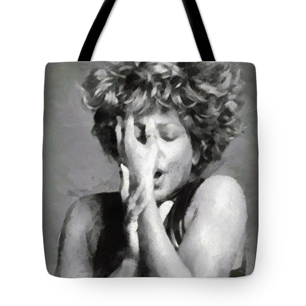 Tina Turner - Emotion Tote Bag by Paulette B Wright