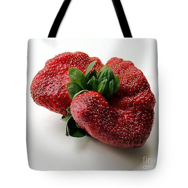 Tina's Strawberry Tote Bag
