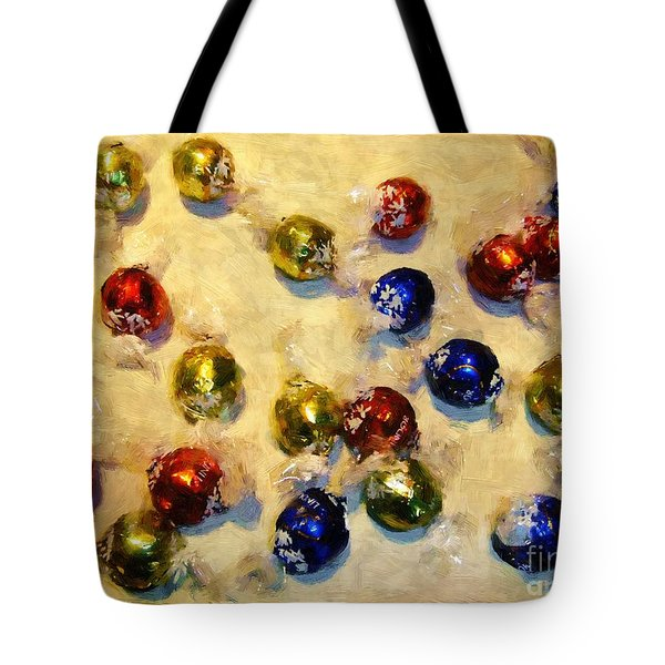 Tinfoiled Truffles Tote Bag by RC deWinter