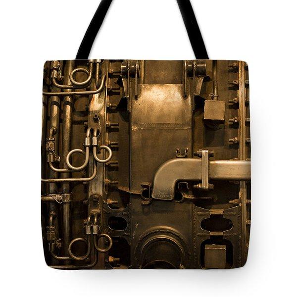 Tinkering Tote Bag by Christi Kraft