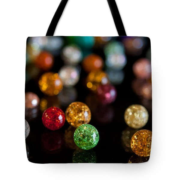 Tiny Crystal Balls Tote Bag