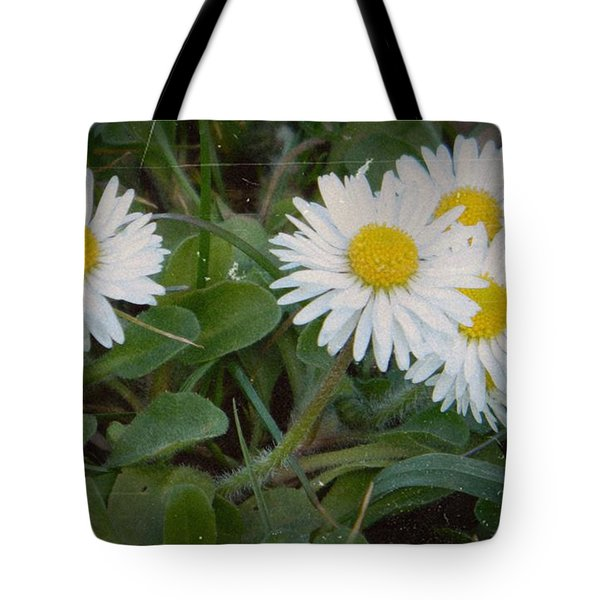 Tiny Daisies Tote Bag by Chalet Roome-Rigdon