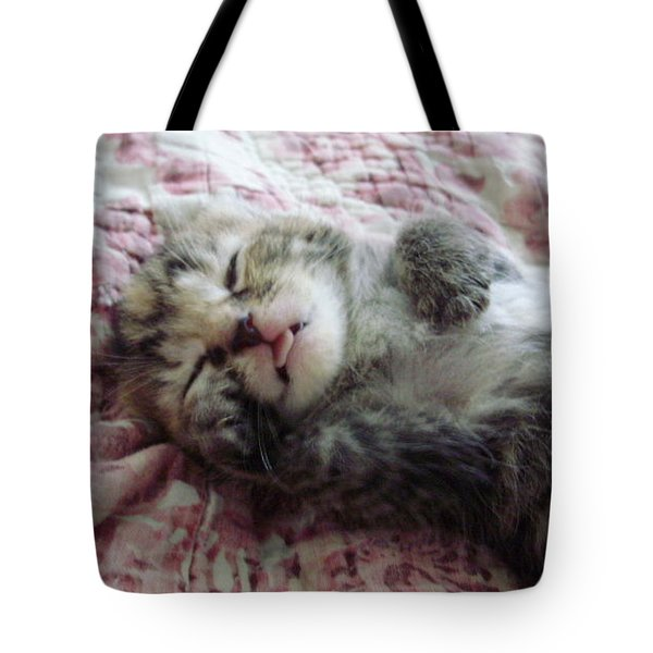 Tiny Napper Tote Bag by Joann Renner