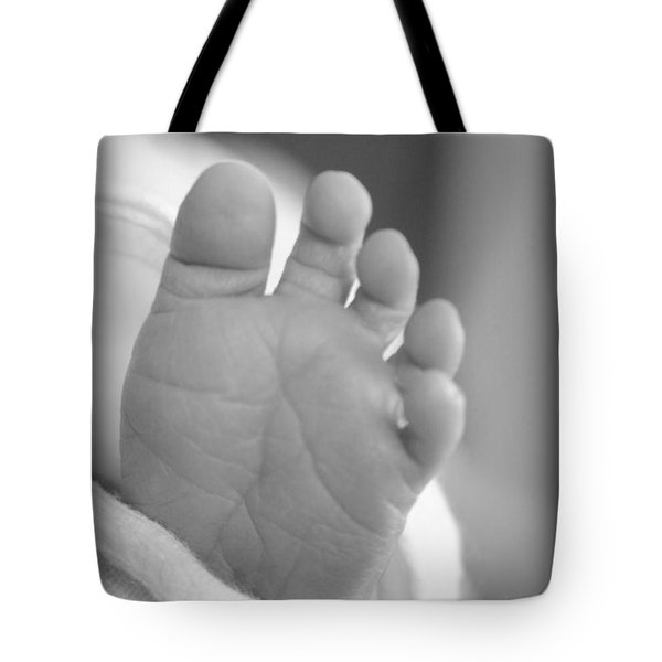 Tiny Toes Tote Bag