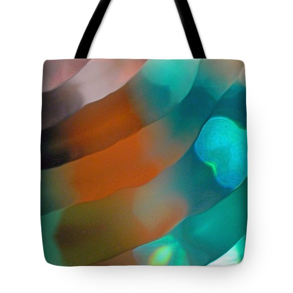 Tote Bag featuring the photograph Tiny Waves by Everette McMahan jr